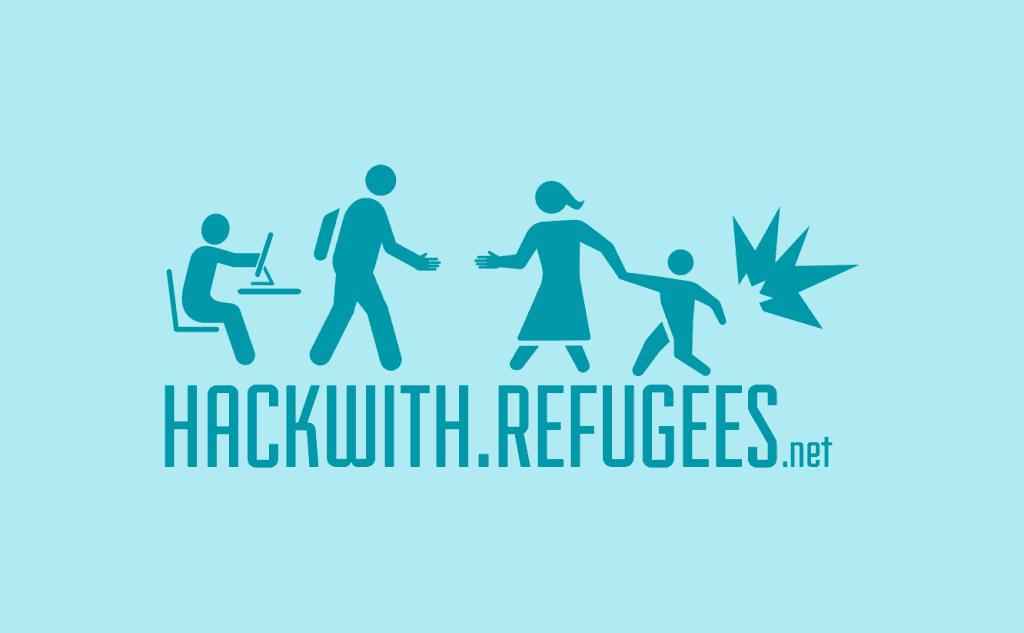 #HackWithRefugees Logo