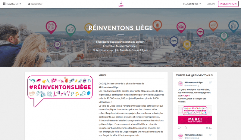How Liège Gathered 95k Votes on Its Civic Engagement Platform in Less than 4 Months