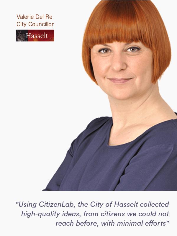 CitizenLab verstärkt die Bürgerbeteiligung in Hasselt