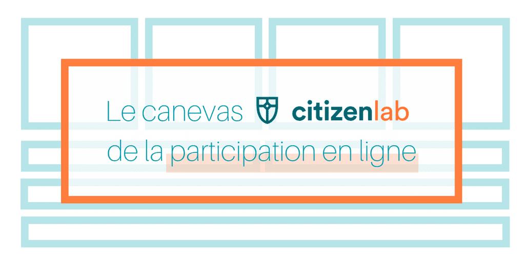 Bien lancer vos initiatives de démocratie participative avec le canevas CitizenLab de la participation en ligne