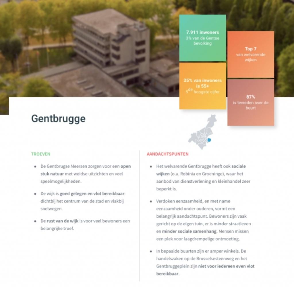 voorbeeld dna analyse wijk Gent