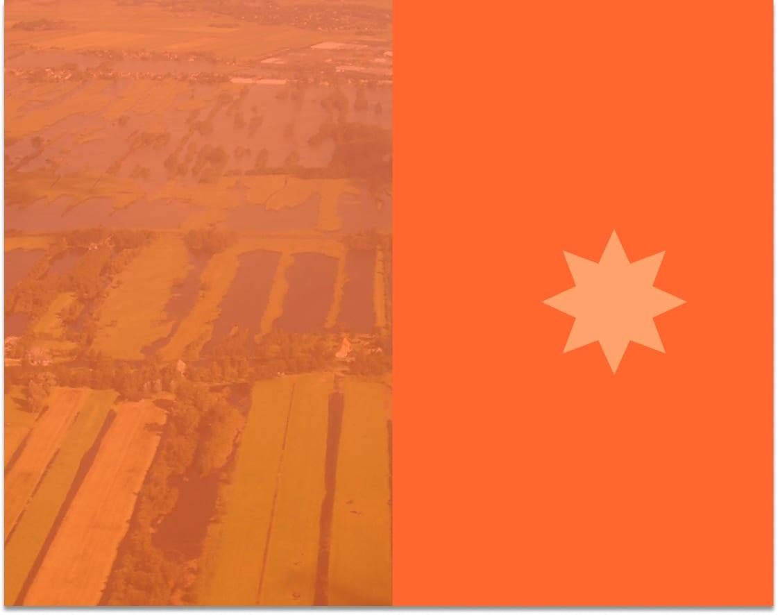 Landschap van Nederlandse dorp veranderd door klimaat