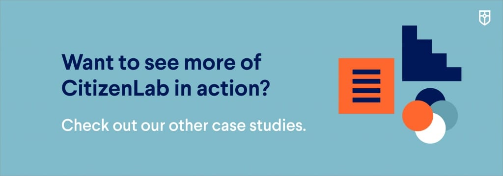 Banner leading to more case studies