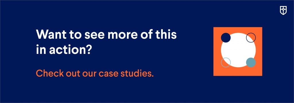 Banner to view more case studies