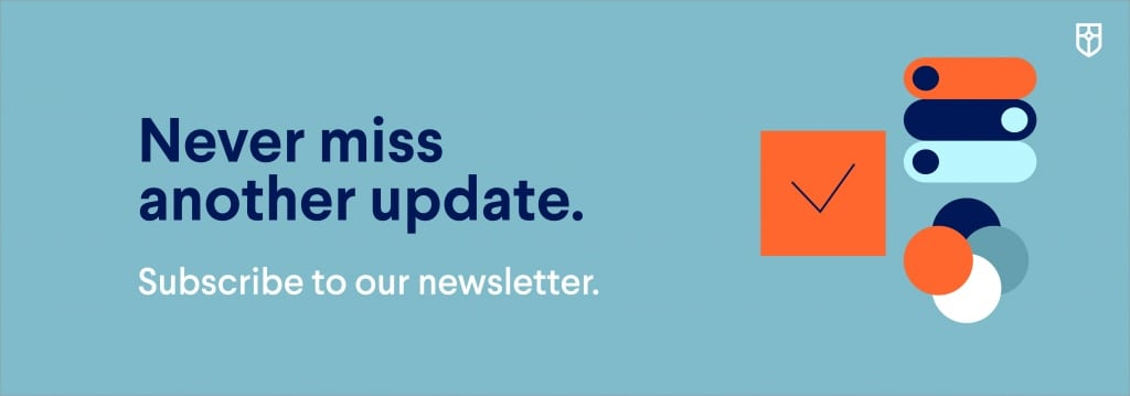 banner leading to newsletter subscription