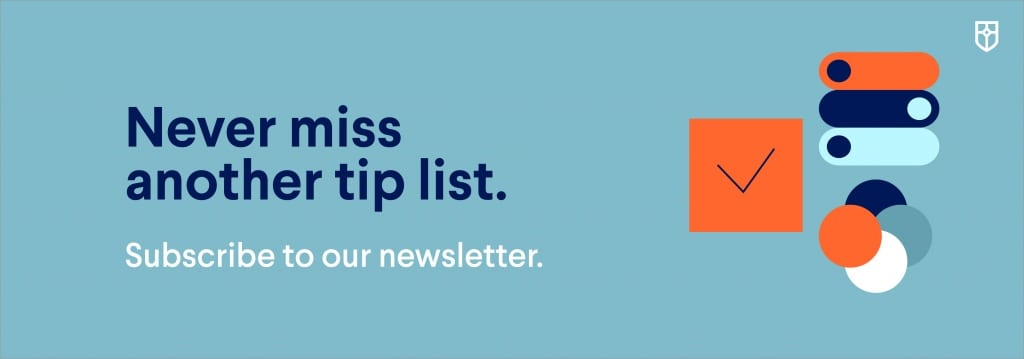 Subscribe to our newsletter suggestion banner